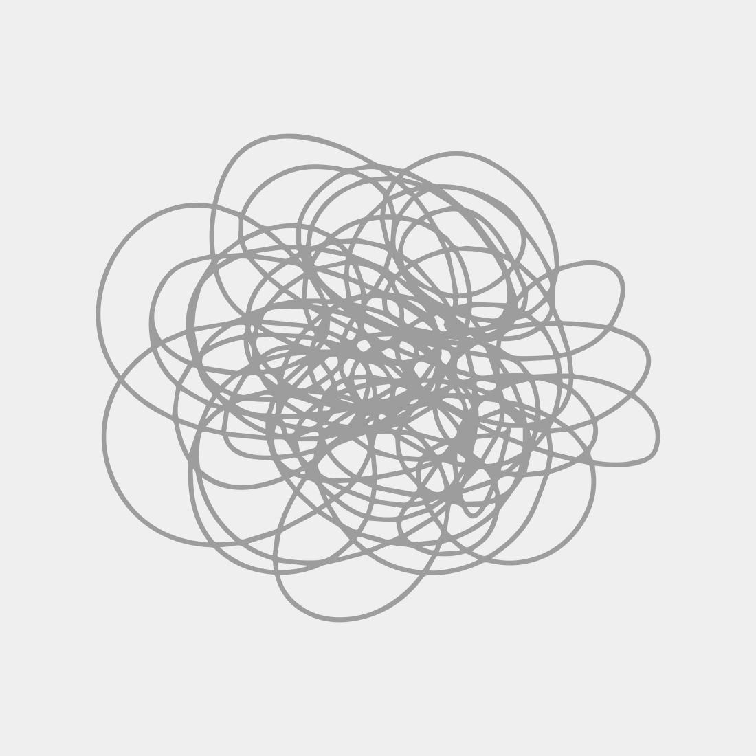 Long Mesh Black Bracelet