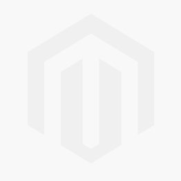 Earrings Quilled Circle w/ Waves B&W