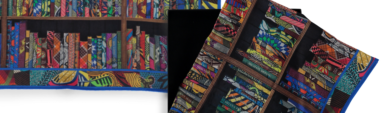 Royal Academy Fashion Yinka Shonibare Financial Times How To Spend It Silk Pocket Square Scarf