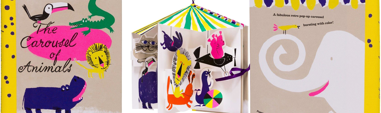 Royal Academy Kids Books The Carousel of Animals