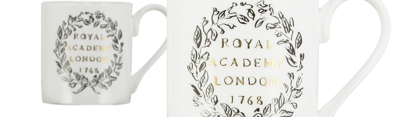 Royal Academy Mugs and Cups Luke Edward Hall Crest
