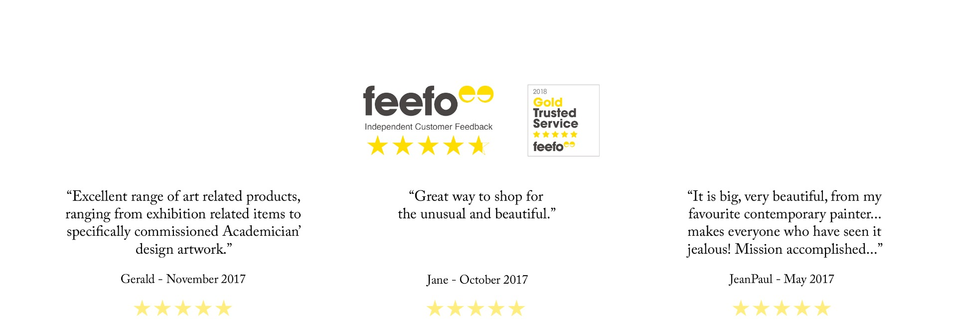 Royal Academy Shop Customer Reviews Feefo