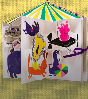 Royal Academy Kids Books The Carousel of Animals New for Summer